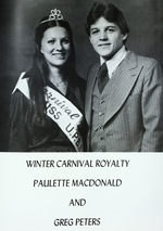 Winter Carnival Queen & King 1979