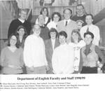 English Department 1998-1999